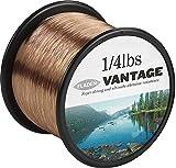 FLADEN VANTAGE Bulk PRO 1/8,82 libras de monofilamento bobinas de hilo de pesca extrafuerte (transparente y marrón) - disponible en 3, 6, 10, 12, 14, 18, 23, 28, 35, 45 y 121,25 lbs Marrón marrón Talla:23lbs - 576m - 0.45mm