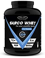 Sinew Nutrition Sarco Whey Protein for Diabetic - 2 kg (Vanilla)
