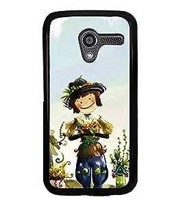 Cute Cartoon 2D Hard Polycarbonate Designer Back Case Cover for Motorola Moto X :: Motorola Moto XT1052 XT1058 XT1053 XT1056 XT1060 XT1055