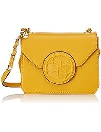 Guess HWAMY2-P6221, Bolso Bandolera para Mujer, Amarillo (YEL), 10 cm
