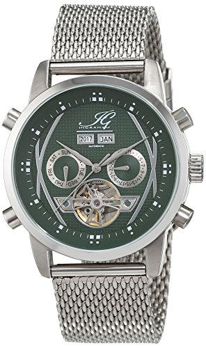 Ingraham Men's Watch XL Analogue Automatic Buenos Aires Stainless Steel IG BUEN.1,221107