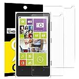 Panzerglasfolie Schutzfolie für Nokia Microsoft Lumia 1020, [2 Stück] NEWC® Tempered Glass 9H Hartglas, Anti Öl, Kratzen und Fingerabdrücke Blasenfrei, HD Displayschutzfolie, 0.33mm HD Ultra-klar für Nokia Microsoft Lumia 1020