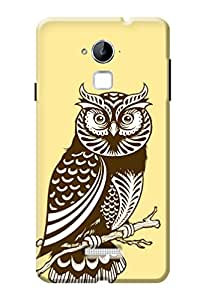 Coolpad Note 3 Plus Back Case KanvasCases Premium Designer 3D Lightweight Hard Cover
