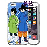 MIM Global Dragon Ball Z Super GT Etuis Coque Case Cover Compatible pour Tous iPhone (iPhone 7 Plus/8 Plus, Icons)