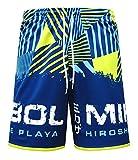 Mikasa Pantaloncino Beach Volley Cyelo - MT5018 (XXL, V1 - Blu/Verde)