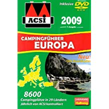 ACSI Internationaler Campingführer Europa 2009 mit DVD