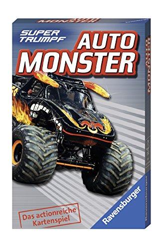 Ravensburger 20304 Kartenspiel-Auto Monster Supertrumpf