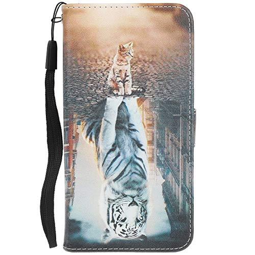 ocketcase Kompatibel Mit Cubot X18 (2017) Hülle, PU Leder Tasche Schutzhülle Case Cover Wallet im Bookstyle mit Magnetverschluss Telefon-Kasten Handyhülle Standfunktion - Farbe 25