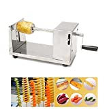 #9: Stainless Steel Potato Slicer Cutter Machine Twister Curly Spiral French Fry