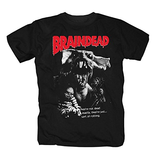 Texas T-shirt Chainsaw (T-Shirt Braindead (L))