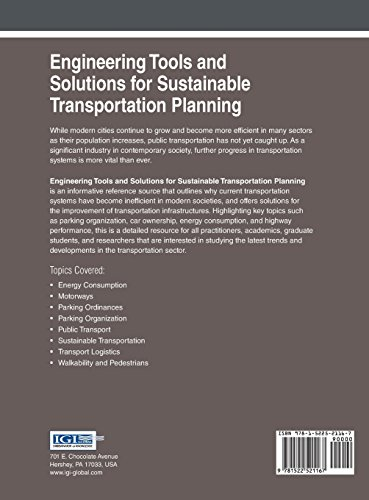 Engineering Tools and Solutions for Sustainable Transportation Planning (Advances in Civil and Industrial Engineering)