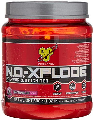 BSN Nutrition N.O.-Xplode, Suplementos Deportivos Pre Workout en Polvo con Creatina Monohidrato, Cafeina, Beta Alanina, Vitamina D y Vitamina B...