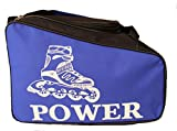 #3: Trendway Unisex Inline Skate/Ice Skates Kit Sports Bag Helmet Storage Bag Travel Duffle Bag for Kids / Children / Men / Women / Girls- Blue Color