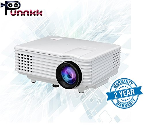 10. ooze Punnkk P5 Mini LED 3D Projector