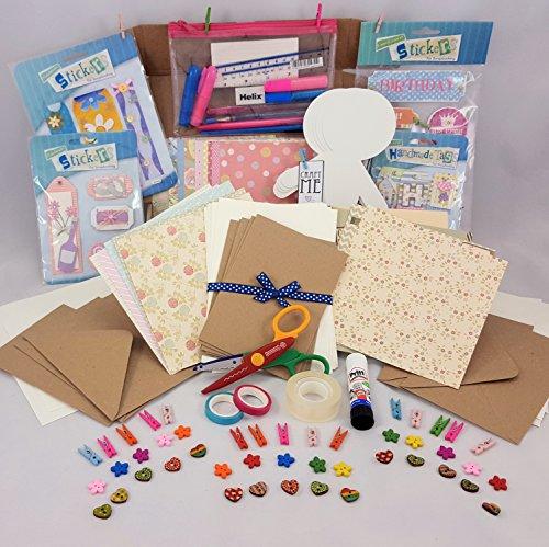 Craft starter kit - Card making - hobby kit - paper crafts