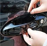 4x Stück Lackschutzfolie gegen Kratzer für Auto-Türgriffe Griffschalen Griffmulden und Türgriffmulden Aufkleber Sticker transparent - für jedes Fahrzeug passend - sarachen - INION®