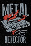 Metal Detector: Heavy Rock Music Hobonichi Techo Journal Book For Men, Women and Kids [Lingua Inglese]