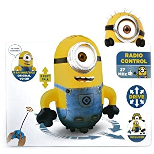 New Bladez Toys Rc Despicable Me Stuart Inflatable Minion Remote Control - BTDM007