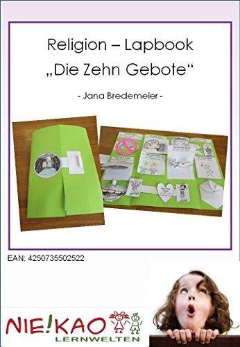 "Religion - Lapbook ""Die Zehn Gebote"""