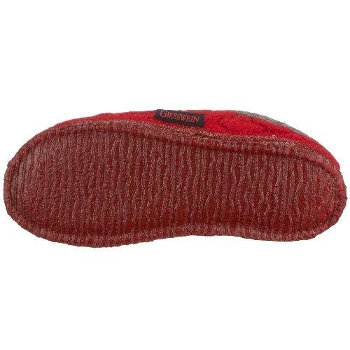 Giesswein Neudau Damen Pantoffeln Rot (362 / kirsche)
