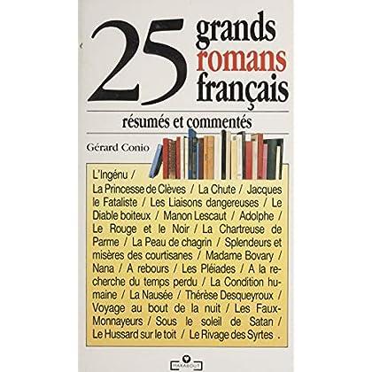 25 grands romans résumés et commentés (Marabout service)