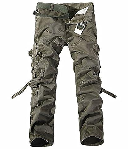 UMilk Hommes Pantalon de chargement athlétique masculin