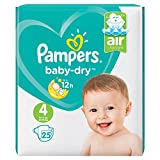 PAMPERS Baby Dry Taille 4 (Maxi) 7 a 18 kg couches
