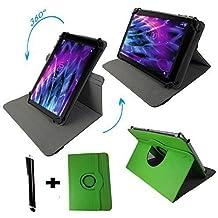 Tablet Funda para Teclast X98Air III Carcasa Funda Case + Touch Pen–9.7pulgadas 360_ verde verde
