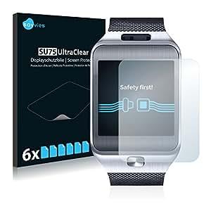 Samsung Galaxy Gear 2 SM-R380 Film Protection [6 Pièces] Protection écran Film Protecteur