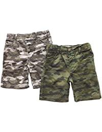 Lot de 2 shorts bébé - 6/23 MOIS - Impression Camouflage