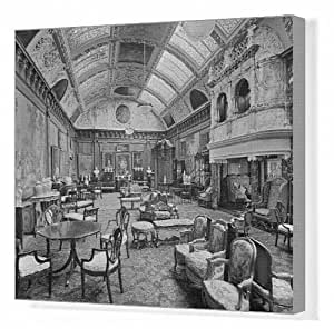 Canvas Print of Edwardian music room, Thornton Manor BL17551