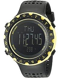 Columbia CT004–020de la Hombres Singletrak con pantalla digital de cuarzo negro reloj