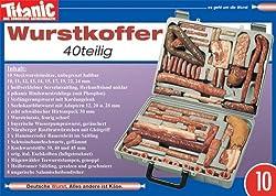 10er-Pack: Postkarte A6 +++ TITANIC von modern times +++ WURSTKOFFER 199906 +++ ARTCONCEPT TITANIC, Schmitt, Hintner/Werner