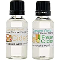 Pear Cider and Cider  Intense Food Flavours (Two 28.5...