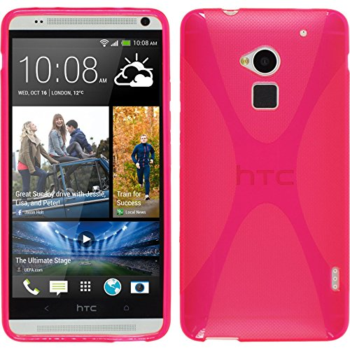 phonenatic-case-fur-htc-one-max-hulle-silikon-pink-x-style-cover-one-max-tasche-2-schutzfolien