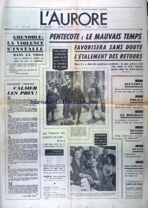 AURORE (L') [No 8318] du 31/05/1971