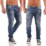 Diesel Herren Slim Jeans Tepphar, Blau (Light Blue 0842H), W33/L32