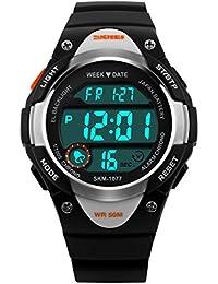 Amazon.co.uk: Black Wrist Watches Boys: Watches