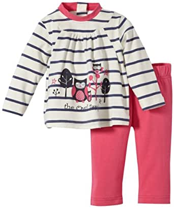 Stummer Baby - Mädchen Bekleidungsset 20201, Gr. 62, Elfenbein (012 snow white)