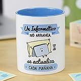 La Mente es Maravillosa | Taza cerámica de café o desayuno | Regalo original para INFORMATICO |...