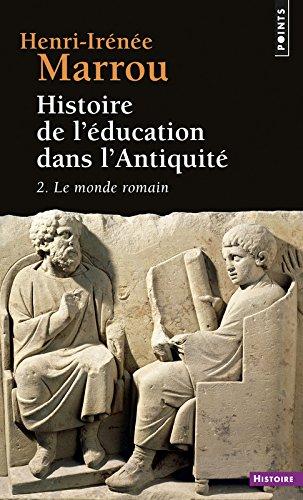 Histoire de l'éducation dans l'Antiquité, tome 2 par Henri-Irenee Marrou