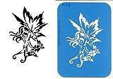 UNLIMITED STENCILS 1 XL Airbrush Tattoo Schablone FEE # 54