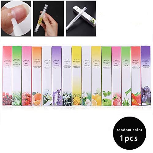 1PC Nagel Ernährung Öl-Feder-Nagel-Häutchen Revitalizer Oil Tief Moisturizing Finger Nagelöl-Nagel-Kunst-Werkzeuge Nagelpflege Behandlung Pen zufällige Farbe -