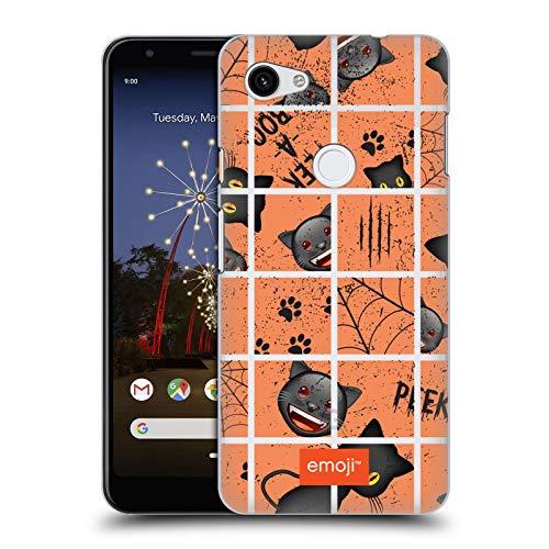 Head Case Designs Offizielle Emoji® Puzzle Halloween Muster Harte Rueckseiten Huelle kompatibel mit Google Pixel 3a XL