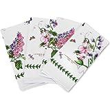 Portmeirion Jardín Botánico de algodón servilletas 45cm por 45cm (juego de 4)