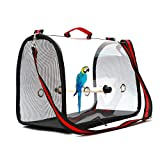 circulor Vogel Rucksack Transport, Papagei Rucksack Atmungsaktiv Vogel Transportkäfig Transport Rucksack Travel Cage Carrier