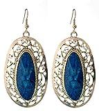 The Grace Earrings : Blue