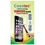 Casotec 2.5D Curved Edge Tempered Glass Screen Protector for Gionee Pioneer P4