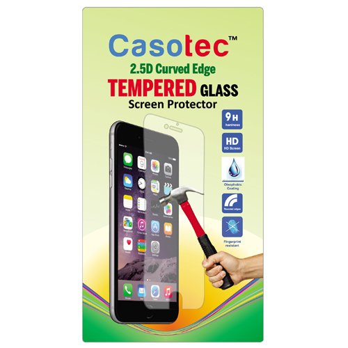 Casotec 2.5D Curved Edge Tempered Glass Screen Protector for HTC One M8