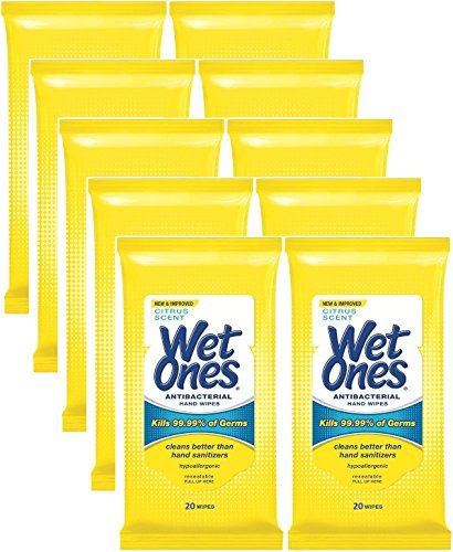 wet-ones-antibacterial-hands-face-wipes-citrus-scent-20-count-travel-pack-200-wipestotal-by-wet-ones